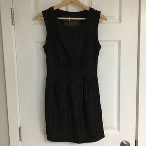 Urban Outfitters black shift dress, size 0.